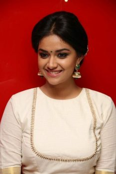 Keerthy Suresh Bra Size Height Weight Body Measurements Wiki